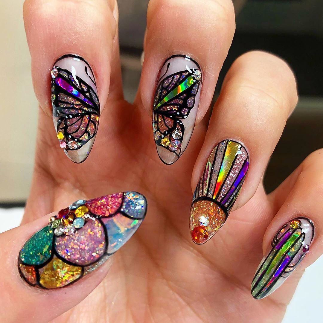 We think it\u0027s safe to say that @nessasnails9 mastered