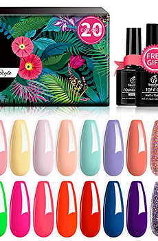 Beetles-20-Pcs-Gel-Nail-Polish-Kit-Spring-into-Summer