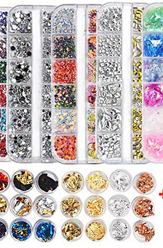 editTime-Nail-Art-Rhinestones-Stickers-Kit-Clear-AB
