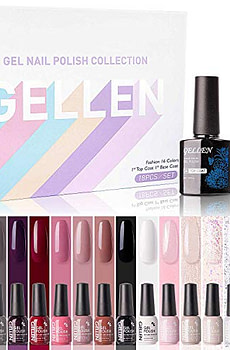 Gellen-Gel-Nail-Polish-Kit-16-Colors-With-Top-Coat