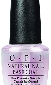 OPI Nail Polish Base Coat, Natural Nail Polish Base Coat, 0.5 Fl Oz