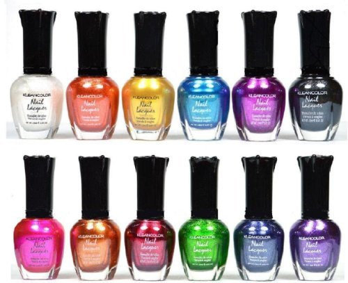 Kleancolor-Nail-Polish-Awesome-Metallic-Full-Size-Lacquer-Lot