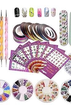 DIY-Glitter-Nail-Rhinestones-Decorations-Dotting-Tool-Water-Transfer-Sticker
